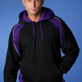 The Aussie Pacific Mens Huxley Hoodies is a 50/50 polyester cotton blend, 300gm.  14 colours.  Pullover style.  Great branded hoodies & sportswear.