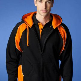The Aussie Pacific Mens Panorama Zip Hoodies are a 50/50 polyester/cotton blend.  In 14 colours.  Great branded zip hoodies & screen printed sportswear.
