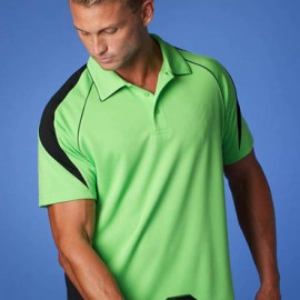 The Aussie Pacific Mens Premier Polo Shirt is made from 100% Driwear polyester moisture removal fabric. 17 colours. Great branded polos & sportswear.