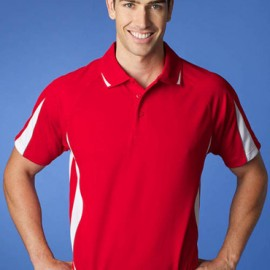 The Aussie Pacific Mens Eureka Polo Shirt is made from 100% Driwear polyester moisture removal fabric. 25 colours. Great branded polos & sportswear.
