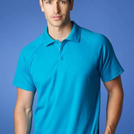 The Aussie Pacific Mens Keira Polo is made from Driwear 180gm 80% polyester & 20% cotton, moisture removal fabric.  5 colours.  Great branded polos & sportswear.