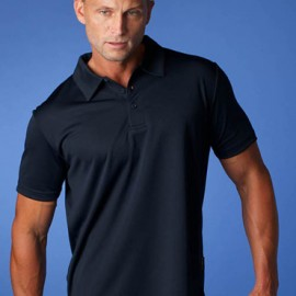 The Aussie Pacific Mens Botany Polo shirt is made from 100% Driwear polyester moisture removal.  9 colours.  Great branded polos and sportswear.