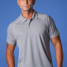 The Aussie Pacific Mens Endeavour Polo Shirt is made from 100% Driwear polyester moisture removal fabric.  19 colours.  Great branded polos & sportswear.