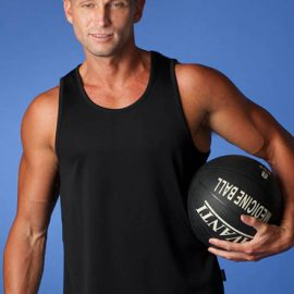 The Aussie Pacific Mens Botany Singlet is made from 100% Driwear polyester moisture removal fabric. 9 colours. Great branded sports singlets & sportswear.