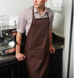 The Biz Collection Bib Apron is made from 65% polyester, 35% cotton twill.  Adjustable neck strap.  Large front pocket.  Available in 11 colours.  Great branded aprons.