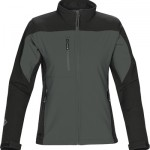 The Stormtech Womens Edge Softshell Jacket is a two tone softshell that is breathability and waterproof. 4 colours. Great branded winter jackets & uniforms.