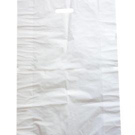 Large white plastic bag