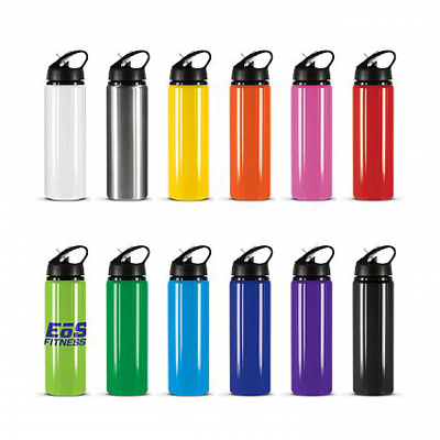 The Trends Collection Oasis Drink Bottle is a 750mm aluminium drink bottle with leak proof flip lid.  12 colours.  Great branded promotional drink ware products.