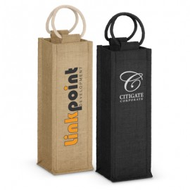 109081 Trends Collection Napoli Jute Wine Carrier