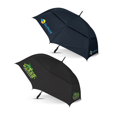 The Trends Collection Trident Sports Umbrella Colour Match is an auto open 8 panel sports umbrella.  2 colours.  Great branded umbrellas & promo products.