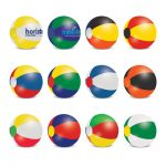 The Trends Collection Beach Ball is a mix and match coloured beach ball.  6 sizes available.  Screen printed.  Great branded summer promo products.