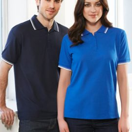 The Biz Collection Mens Cambridge Polo is a 50% cotton, BIZ COOL™ Polyester pique polo shirts.  7 colours.  Sizes S - 5XL.  Great branded polo shirts & uniforms.