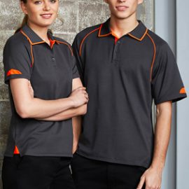 The Biz Collection Mens Fusion Polo is aBIZ COOL™ Cotton Backed PolyesterPolo Shirt. 4 colours. Sizes S - 5XL. Great branded polo shirts & uniforms.