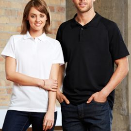 The Biz Collection Mens Sprint Polo is aBIZ COOL™ 100% Breathable Polyester polo shirt. 5 colours. S - 5XL. Great branded biz cool polos & uniforms.