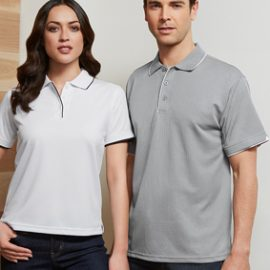 The Biz Collection Mens Elite Polo is a BIZ COOL™ 100% Breathable Polyester polo shirt. 6 colours. S - 5XL. Great branded biz cool polos & uniforms.