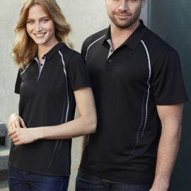 The Biz Collection Cyber Mens Polo is made from 100% BIZ COOL™ Polyester fabric. 155 gsm. 5 colours with Silver features. Great branded polos - embroidered or printed.