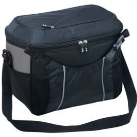 The Legend Life Jump Access Cooler has a quick access lid & holds 15 standard bottles. In 5 colours with Silver Trim. Great branded cooler bags & corporate gifts.
