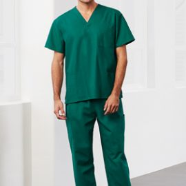 The Biz Collection Unisex Classic Scrubs Cargo Pant is a 65% polyester.  155gsm.  Easy Fit.  Elasticated & Drawstring.  6 colours.  Great classic scrub pants.