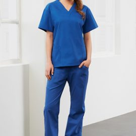 The Biz Collection Ladies Classic Scrubs Bootleg Pant is a 65% polyester, scrubs pant.  155 gsm.  Modern Fit.  7 colours.  Great healthcare uniforms.