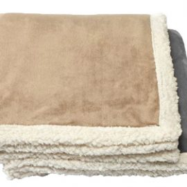 The Legend Life Kanata Challenger Lambswool Throw is a luxurious & affordable reversilble throw.  In Light Grey, Light Tan.  Great branded throws & blankets.
