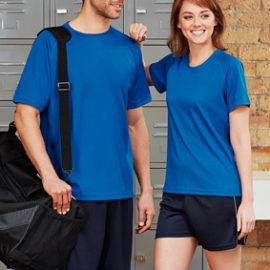 The Biz Collection Ladies Sprint Tee is a 100% Biz Cool breathable polyester tshirt. 9 colours. 6 - 24. Great branded tshirts & sports team wear.