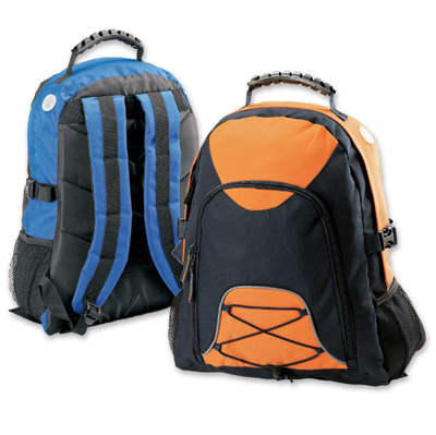 The Legend Life Kuza Backpack is part of the Kuza range from Legend Life. 14 colour combinations. Branding on front of bag available. Great branded backpacks & bags.
