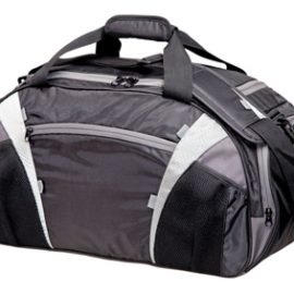 The Legend Life Chicane Sports Bag is available in two colours. 58 litres. Multiple pockets & detachable shoulder strap. Branded sports bags & promo products.