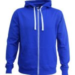 The Cloke Contrast Zip Hoodie is a 300gsm, contrast zip and drawcord zip hoodie. Available in 5 colours. Sizes XS - 5XL. Great contrast branded hoodie.