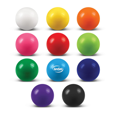 The Trends Collection Stress Ball is a round anti stress ball made from P.U. 68mm diameter. Available in 12 colours. Great branded anti stress balls.