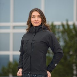 The Stormtech Womens Ranger 3 in 1 System Jacket is a 2.5 layer technical shell jacket.  Black & Navy.  Great branded jackets & winter uniforms.