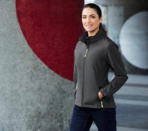 J740L Biz Collection Womens Apex Lightweight Softshell Jacket