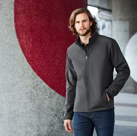 The Biz Collection Mens Apex Lightweight Softshell Jacket is lightly water repellent and wind resistant.  3 colours.  S - 5XL.  Great branded softshell jackets and Biz Collection apparel.