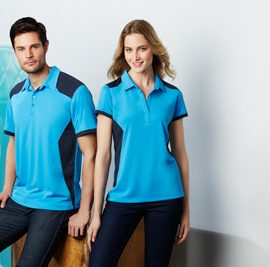 The Biz Collection Mens Rival Polo is a 100% Biz Cool polo shirt. Mens and Womens. 12 colours. Great branded biz cool apparel & polo shirts.