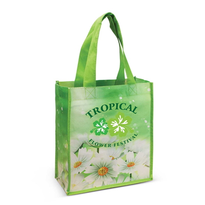 The Trends Collection Trevi Cotton Tote Bag is a 140gsm cotton tote bag with large gusset and bind on edges.  Full colour sublimation printed bags.