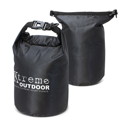 The Trends Collection Nevis Dry Bag is a 5 litre dry bag with heat sealed waterproof seams.  7 colours.  Great branded travel bags to keep your clients stuff dry.