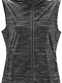 The Stormtech Womens Ozone Lightweight Vest is part of a range of outdoor activewear. Breathable and water repellent with heathered style and reflective.