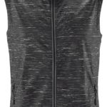 The Stormtech Mens Ozone Lightweight Vest is part of a range of outdoor activewear. Breathable and water repellent with heathered style and reflective