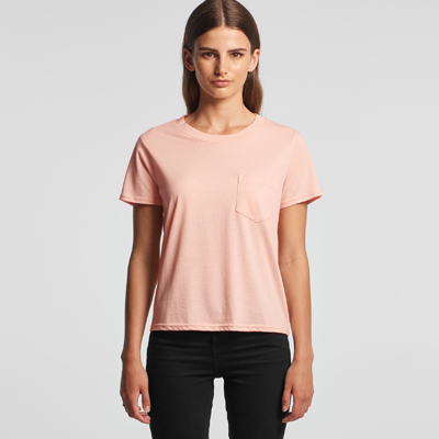 The AS Colour Square tee is a relaxed fit, crew neck, 130gsm lightweight tee. 4 colours. XS - XL. Great branded combed cotton AS Colour Tees.