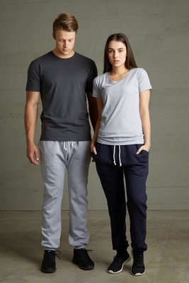 The Cloke Campus Sweatpants are a 300gm, 60% cotton sweatpant.  3 colours.  S - 3XL.  Great printable sweatpants from Aurora Clothing.