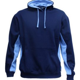 The Aurora Sports Matchpace Hoodie Kids is a 280gsm poly/cotton pullover hoodie. Available in 9 colour combinations. Sizes 6 - 14. Great two toned branded hoodies.