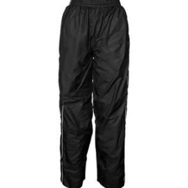 The Aurora Nylon Trackpants are a showerproof, nylon, fully lined trackpant.  Black or Navy.  XS - 2XL.  Great nylon sportswear from Aurora Clothing.