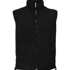 The Aurora Adults Microfleece Vest is a warm heavy micro fleece in a vest. Freedom of movement. 340GSM. Available in Navy and Black. Sizes S - 5XL.