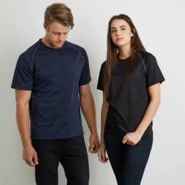 The Aurora Sports Mens XT Performance Tee is a v-neck, polyester performance tee. Quick dry. 9 colours. S - 5XL. Great performance sports wear.