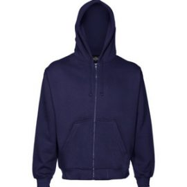 The Cloke 300 Zip Hoodie is a 300gsm poly/cotton full zip kids sized hoodie.  Available in Black & Navy.  Sizes 6 - 14.  Great kids branded hoodie.