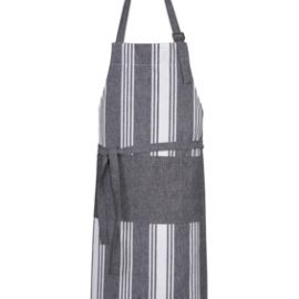 The Biz Collection Salt Bib Apron is a 100% Cotton, textured 240gsm Apron.  Charcoal/White.  Great branded aprons for hospitality businesses.