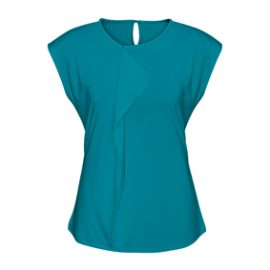 The Biz Collection Mia Top is a 95% polyester, pleat knit top.  8 colours.  6 - 26.  Great business and work tops from Biz Collection.