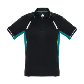 The Biz Collection Mens Renegade Polo Shirt is made from 100% Biz Cool material. 155 gsm. Contrast panels. S - 5XL. 13 colours. Great branded polos shirts and Biz Cool apparel