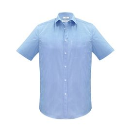 The Biz Collection Mens Euro Long Sleeve Shirt is an easy care 65% polyester, 35% cotton shirt. 3 colours. XS - 5XL. Great branded long sleeve work shirts.