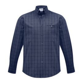 The Biz Collection Mens Harper Long Sleeve Shirt is a 65% polyester shirt. Prince of Wales check fabric. 2 colours. XS - 5XL. Great business shirts.
