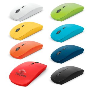 The Trends Collection Voyage Travel Mouse is a comfortable and compact wireless mouse compatible with Windows and Mac.  8 colours.  Great tech promo products.
